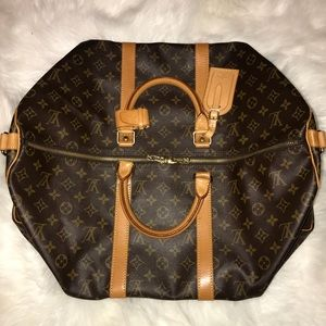 100% Authentic Louis Vuitton Keepall Bandouliere